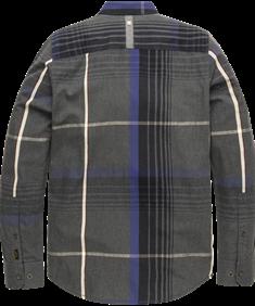 PME Legend casual overhemd psi206221 in het Donker Blauw