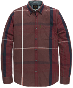 PME Legend casual overhemd psi206221 in het Lila