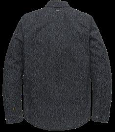PME Legend casual overhemd PSI207217 in het Donker Blauw