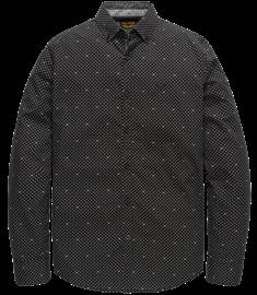 PME Legend casual overhemd PSI207217 in het Donker grijs