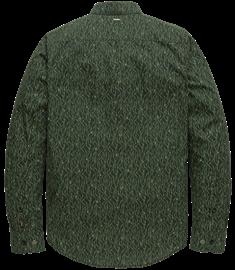 PME Legend casual overhemd PSI207217 in het Donker Groen