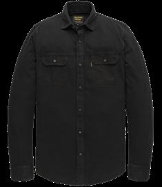 PME Legend casual overhemd PSI207237 in het Donker grijs