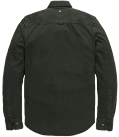 PME Legend casual overhemd PSI207237 in het Donker Groen