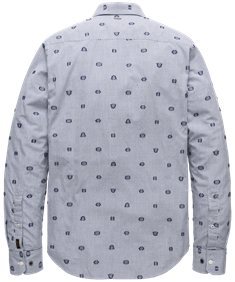 PME Legend casual overhemd PSI208216 in het Donker Blauw