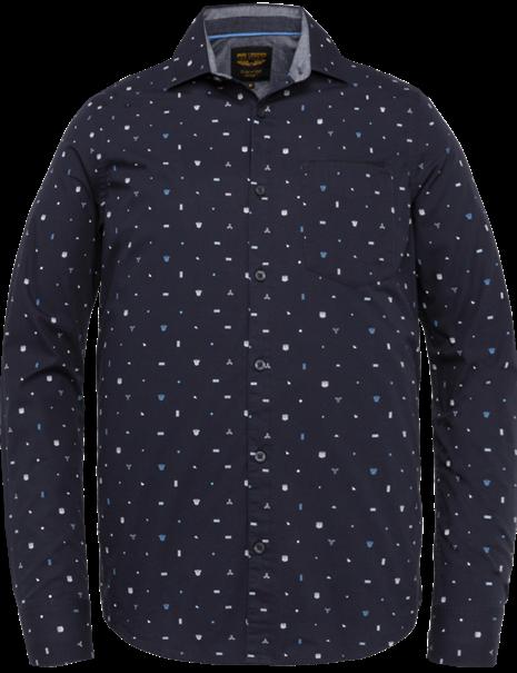 PME Legend casual overhemd PSI211202 in het Marine