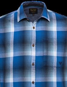 PME Legend casual overhemd PSI211206 in het Blauw