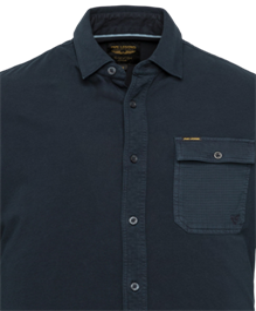 PME Legend casual overhemd PSI211218 in het Marine