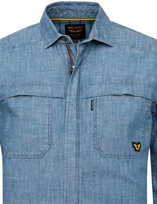 PME Legend casual overhemd PSI215201 in het Indigo