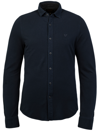 PME Legend casual overhemd PSI216209 in het Donker Blauw