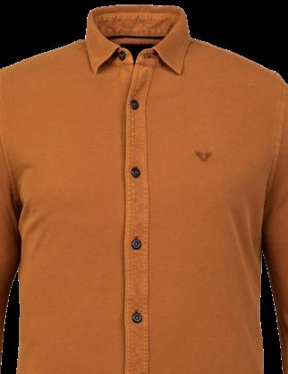 PME Legend casual overhemd PSI216209 in het Oranje
