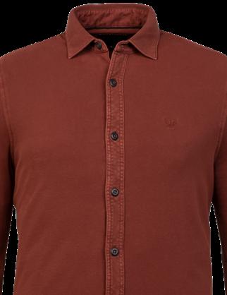 PME Legend casual overhemd PSI216209 in het Rood