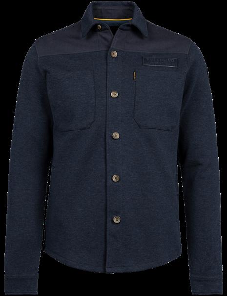 PME Legend casual overhemd PSI216222 in het Donker Blauw