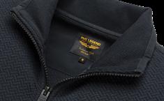 PME Legend gebreid vest psw205406 in het Donker Blauw