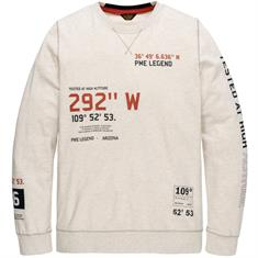 PME Legend longsleeves pls205507 in het Ecru