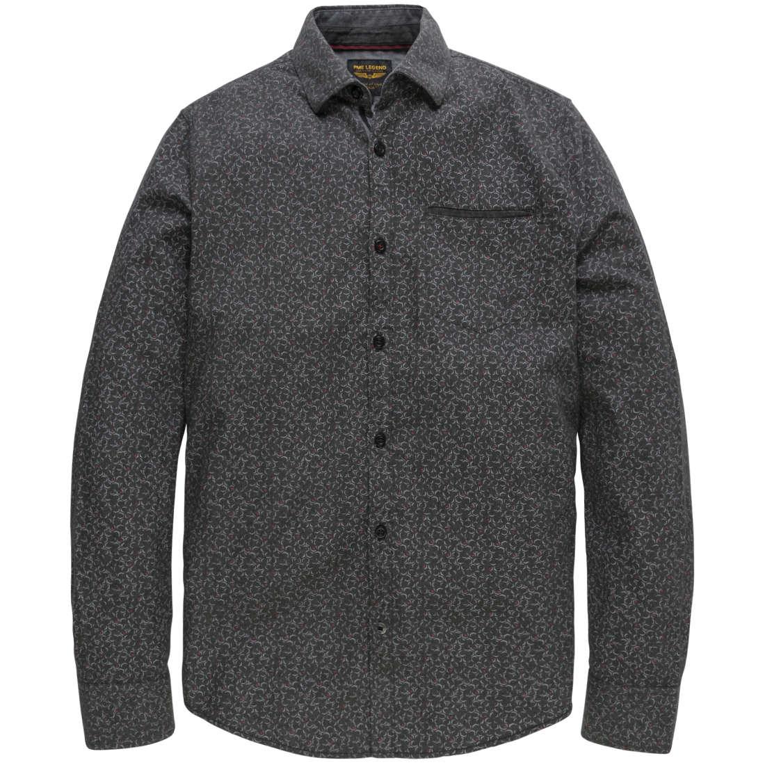 PME Legend overhemd psi186227 in het Antraciet