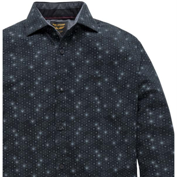 PME Legend overhemd psi187206 in het Donker Blauw