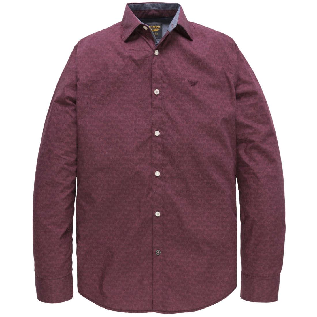 PME Legend overhemd psi187206 in het Rood