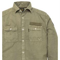 PME Legend overhemd psi193216 in het Olijf groen