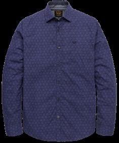 PME Legend overhemd psi206223 in het Donker Blauw