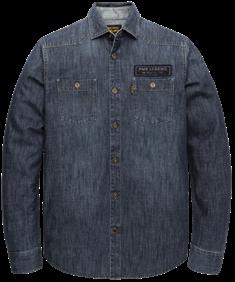 PME Legend overhemd psi206231 in het Indigo