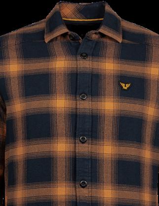 PME Legend overhemd PSI216203 in het Licht Grijs