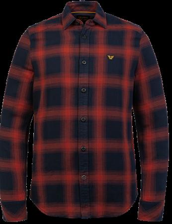 PME Legend overhemd PSI216203 in het Rood