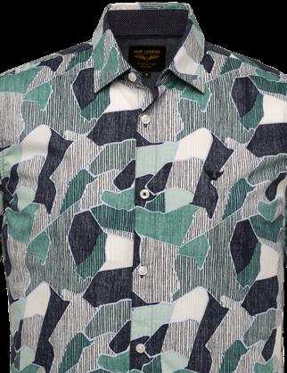 PME Legend overhemd PSIS203227 in het Mint Groen
