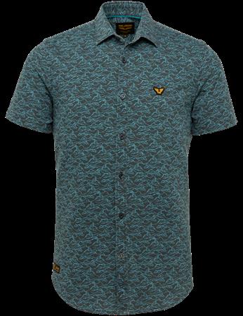 PME Legend overhemd PSIS212279 in het Grijs Melange