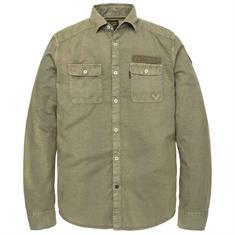 PME Legend overhemd Regular Fit psi193216 in het Olijf groen