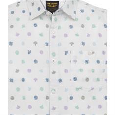 PME Legend overhemd Regular Fit psis194219 in het Wit