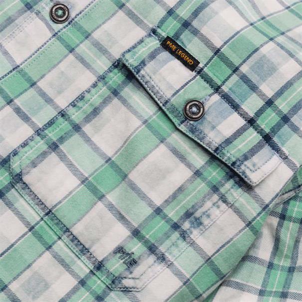 PME Legend overhemd Tailored Fit psis194215 in het Mint Groen