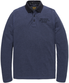 PME Legend polo's pps206814 in het Blauw