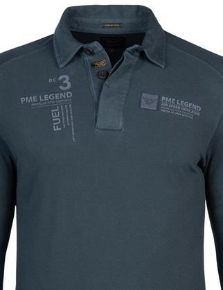PME Legend polo's PPS215831 in het Donker Blauw
