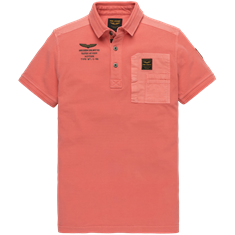 PME Legend polo's ppss202862 in het Rood
