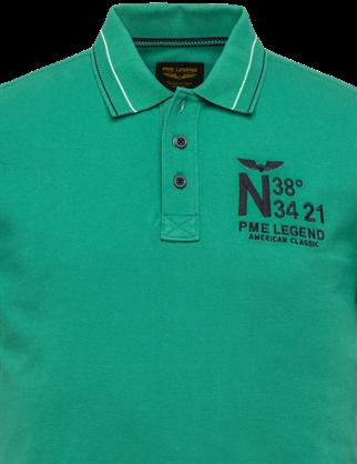 PME Legend polo's PPSS203888 in het Donker Groen