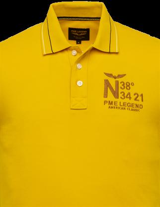 PME Legend polo's PPSS203888 in het Geel