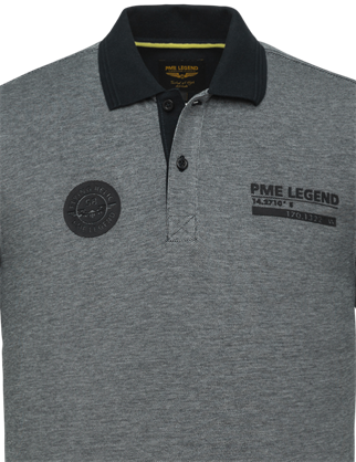 PME Legend polo's PPSS214873 in het Marine