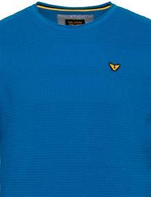PME Legend ronde hals trui PKW211300 in het Blauw
