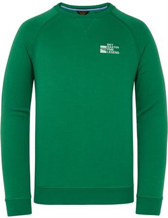 PME Legend ronde hals trui PLS211501 in het Groen