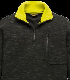 PME Legend sweater PLS207501 in het Donker grijs