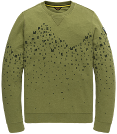 PME Legend sweater PLS207502 in het Groen