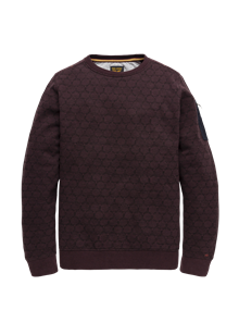 PME Legend sweater psw196426 in het Rood