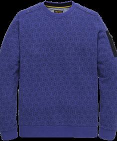 PME Legend sweater psw206412 in het Blauw