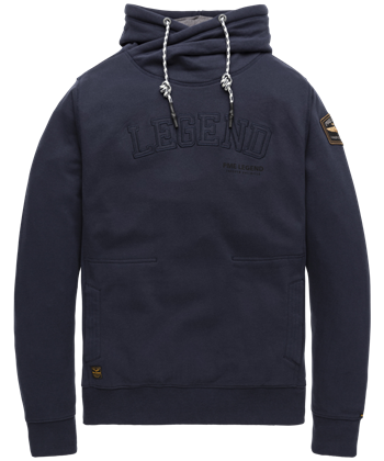 PME Legend sweater PSW208423 in het Donker Blauw