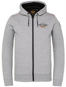 PME Legend sweater PSW211406 in het Licht Grijs