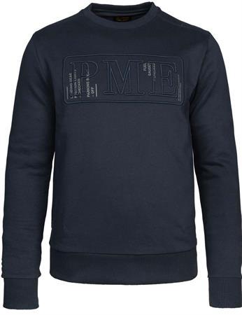 PME Legend sweater PSW215414 in het Donker Blauw