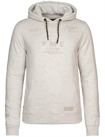 PME Legend sweater PSW215415 in het Licht Grijs