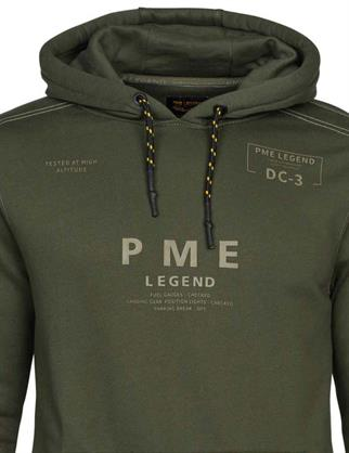 PME Legend sweater PSW215415 in het Petrol