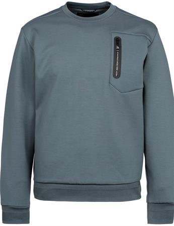 PME Legend sweater PSW215656 in het Donker grijs