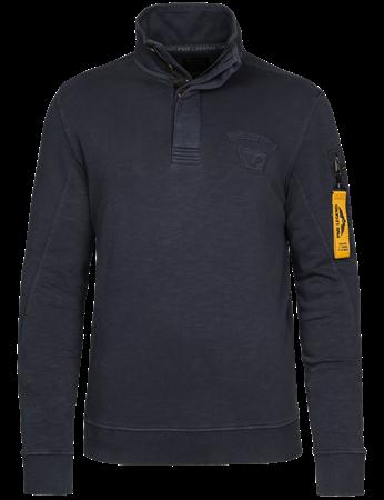 PME Legend sweater PSW216417 in het Donker Blauw
